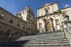 San Salvatore, Parrocchio San Francesco di Assissi , Barokken, Noto, Sicilia, Italia