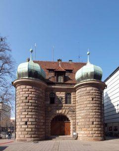 Zeughaus, Nürnberg, Bayern, Unesco Verdensarv, Altstadt, Historisk, Middelalder, Hauptmarkt, Sør-Tyskland, Tyskland