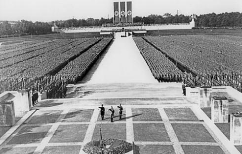 Nazisamling i Nürnberg, dokumentasjons-museet, Nürnberg, Bayern, Unesco Verdensarv, Altstadt, Historisk, Sør-Tyskland, Tyskland