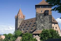 Luginsland, Kaiserburg, Nürnberg, Bayern, Unesco Verdensarv, Altstadt, Historisk, Middelalder, Hauptmarkt, Sør-Tyskland, Tyskland