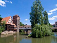 Nürnberg, Bayern, Unesco Verdensarv, Altstadt, Historisk, Middelalder, Marktplatz, Sør-Tyskland, Tyskland