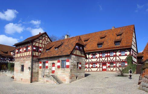 Kaiserburg, Nürnberg, Bayern, Unesco Verdensarv, Altstadt, Historisk, Middelalder, Marktplatz, Sør-Tyskland, Tyskland