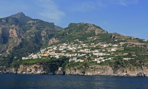 Praiano, Amalfikysten, Italia