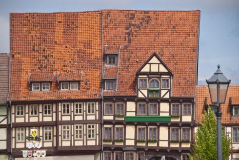 Quedlinburg, Altstadt, Unesco Verdensarv, Nord-Tyskland, Tyskland