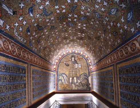 Capella Arcivescovile, Capella di San Andrea, Unesco, Ravenna, Emilia-Romagna, Sør-Italia, Italia