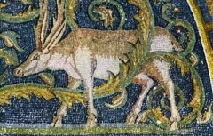 ...flere mosaikker i Mausoleo di Galla Placidia, Unesco, Ravenna, Emilia-Romagna, Nord-Italia, Italia
