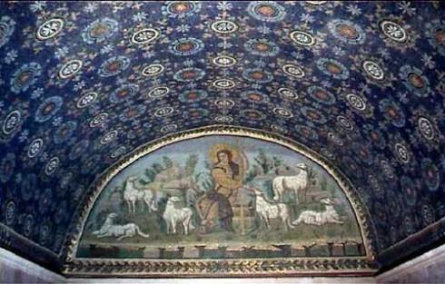 Mausoleo di Galla Placida, Unesco, Ravenna, Emilia-Romagna, Nord-Italia, Italia