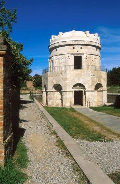 Mausoleo de Theodorico, Unesco, Ravenna, Emilia-Romagna, Nord-Italia, Italia
