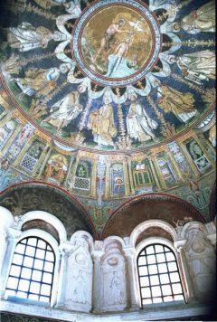 Battistera Neoniano, Unesco, Ravenna, Emilia-Romagna, Nord-Italia, Italia