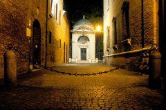 Dantes gravsted, kirken San Francesco, Unesco, Ravenna, Emilia-Romagna, Nord-Italia, Italia