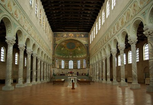 Basilica Sant' Apollinare in Classe, Unesco, Ravenna, Emilia-Romagna, Nord-Italia, Italia