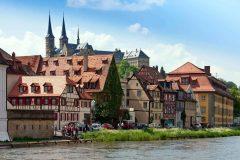 Kloster St Michaelsberg, Bamberg, Sør-Tyskland, Tyskland