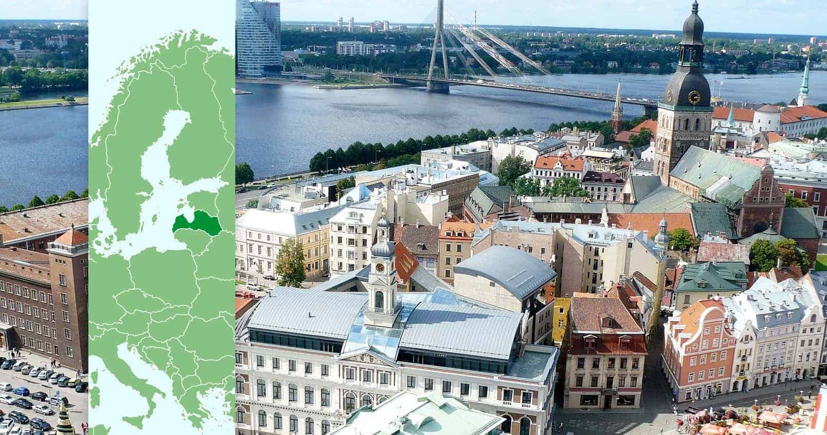 Riga, Latvia, reisdit.no