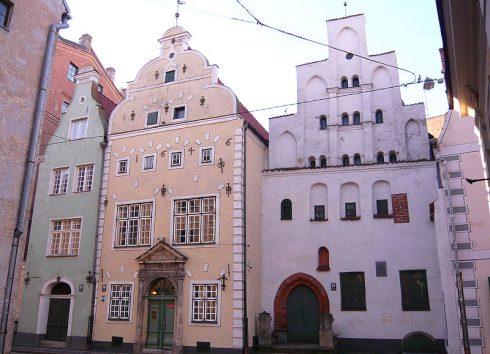 Tre Brødre, Riga, gamleby, Unesco Verdensarven, Latvia, Baltikum