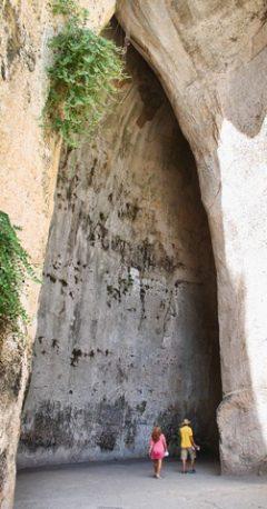 Dionysos Øre, Gamlebyen, Ortigia, Siracusa, Sicilia, Italia
