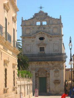 Santa Lucia alla Badia, Gamlebyen, Ortigia, Siracusa, Sicilia, Italia