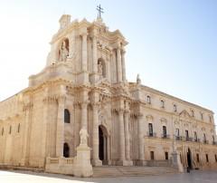 Siracusas Duomo, Ortigia, Siracusa, Sicilia, Italia