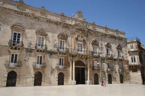 Palazzo Beneveto del Bosco, Ortigia, Siracusa, Sicilia, Italia