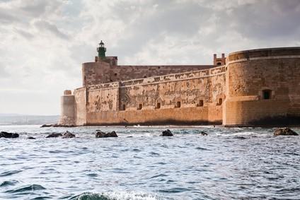 Castillo Maniace, Ortigia, Siracusa, Sicilia, Italia