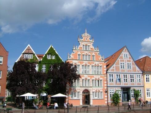 Staselig Bürgerhaus ved kanalen