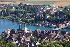 Middelalder, Stein am Rhein, Sveits