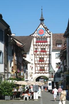 Untertor, middelalder, Altstadt, Stein am Rhein, Sveits