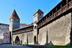 Bymuren, Rådhusplassen, Tallinn, historisk, gamleby, Estland, Unesco Verdensarven, Estland, Baltikum