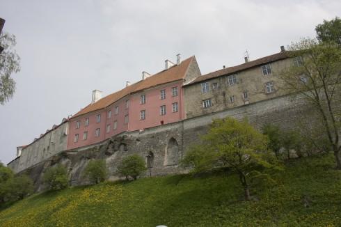 Borgmuren, Toopea-høyden, Rådhusplassen, Tallinn, historisk, gamleby, Estland, Unesco Verdensarven, Estland, Baltikum