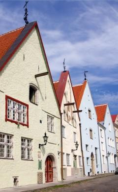 Rådhusplassen, Tallinn, historisk, gamleby, Estland, Unesco Verdensarven, Estland, Baltikum