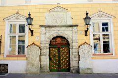 Svarthodenes gildehall, Rådhusplassen, Tallinn, historisk, gamleby, Estland, Unesco Verdensarven, Estland, Baltikum