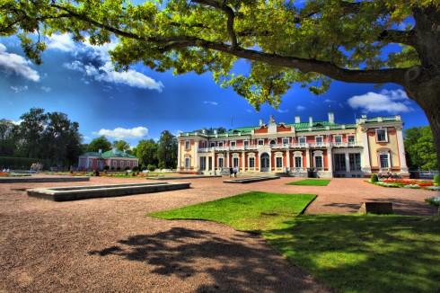 Kadriorg-palasset, tsaren Peter den Store, Rådhusplassen, Tallinn, historisk, gamleby, Estland, Unesco Verdensarven, Estland, Baltikum