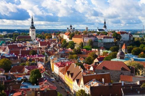 Toopea-høyden, citadellet, Rådhusplassen, Tallinn, historisk, gamleby, Estland, Unesco Verdensarven, Estland, Baltikum