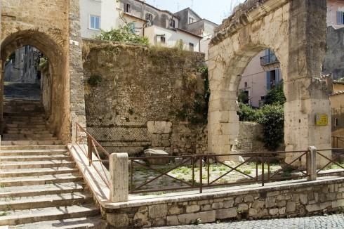 Historisk senter, Terracina, Lazio, Midt-Italia, Italia