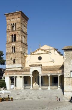 Duomo, Piazza, Terracina, Lazio, Midt-Italia, Italia