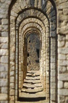 det romerske tempelet Jupiter Anxur, Terracina, Lazio, Midt-Italia, Italia