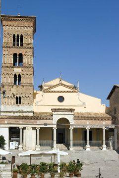 Duomo, middelalder, Terracina, Lazio, Midt-Italia, Italia