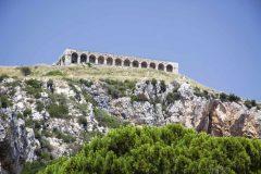 Tempelet Jupiter Anxur, Romertid, Terracina, Lazio, Midt-Italia, Italia