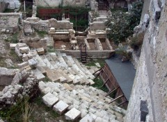 romersk teater, Terracina, Lazio, Midt-Italia, Italia