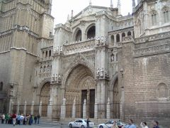 Toledo-katedralen, Toledo, Unescos liste over Verdensarven, Castilla-La Mancha, Midt-Spania, Madrid og innlandet,Spania