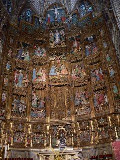 katedral, hovedalter, Toledo, Unescos liste over Verdensarven, Castilla-La Mancha, Midt-Spania, Madrid og innlandet,Spania