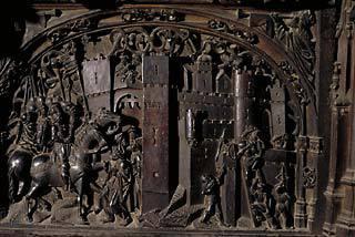 Katedralen, relieff, Toledo, Unescos liste over Verdensarven, Castilla-La Mancha, Midt-Spania, Madrid og innlandet,Spania