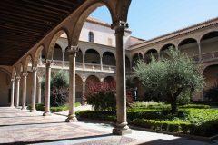 Fra renessansepatioen i Museo de Santa Cruz, Toledo, Unescos liste over Verdensarven, Castilla-La Mancha, Midt-Spania, Madrid og innlandet,Spania