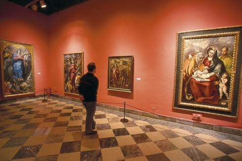 Museo de Santa Cruz, El Greco, Toledo, Unescos liste over Verdensarven, Castilla-La Mancha, Midt-Spania, Madrid og innlandet,Spania