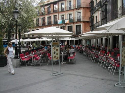 Terrazzas de la Plaza de la Zadovar, Toledo, Unescos liste over Verdensarven, Castilla-La Mancha, Midt-Spania, Madrid og innlandet, Spania