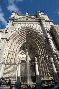 Toledos katedral: Portada de Leones, Toledo, Unescos liste over Verdensarven, Castilla-La Mancha, Midt-Spania, Madrid og innlandet,Spania