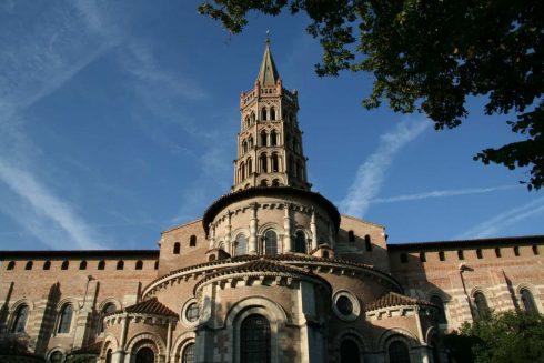 Basilique de St Sernin, Toulouse, Sør-Frankrike, Frankrike