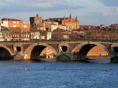 Pont Neuf, Toulouse, Sør-Frankrike, Frankrike