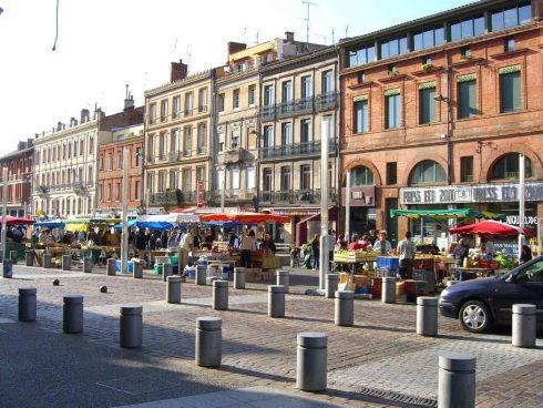 Marché Arnaud Bernard, Toulouse, Sør-Frankrike, Frankrike
