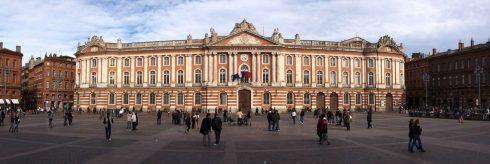 Hôtel de Ville, Place du Capitole, Toulouse, Sør-Frankrike, Frankrike