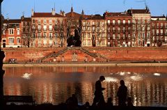 Quai de Tounis, Toulouse, Sør-Frankrike, Frankrike